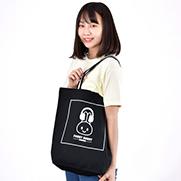 FUNNY☆BUNNY【 ボックスロゴ 】 配色トートバッグ  Mサイズ