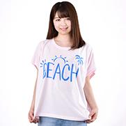 BEACH スリーブレス ワイドTシャツ (TRUSS)