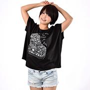 PianoⅡ スリーブレス ワイドTシャツ (TRUSS)