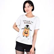 ハロウィン(ペンギン) ドルマンTシャツ (TRUSS)
