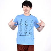 理科実験室 5.6ハイクオリティーTシャツ(United Athle)