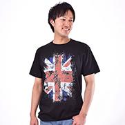 ユニオンジャック 5.6オンスTシャツ (Printstar)