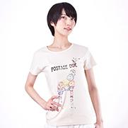 postage due 6.2オンス CVC フライス Tシャツ