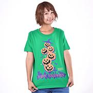 Happy Halloween 02 5.0オンスTシャツ (United Athle)