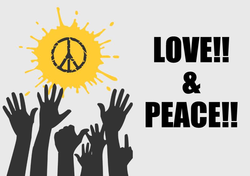 LOVE&PEACE Tシャツ特集
