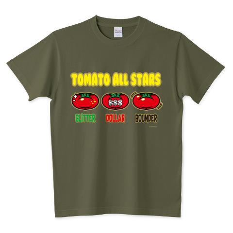 TOMATO ALL STARS 5.6オンスTシャツ (Printstar)