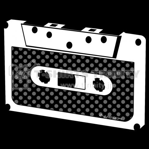 カセットテープ Cassette Tape dot ドット 水玉 Small スモール 両面プリント
