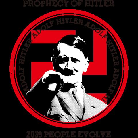 ヒトラーの予言『2039年、人は進化する』ヴィンテージDESIGN