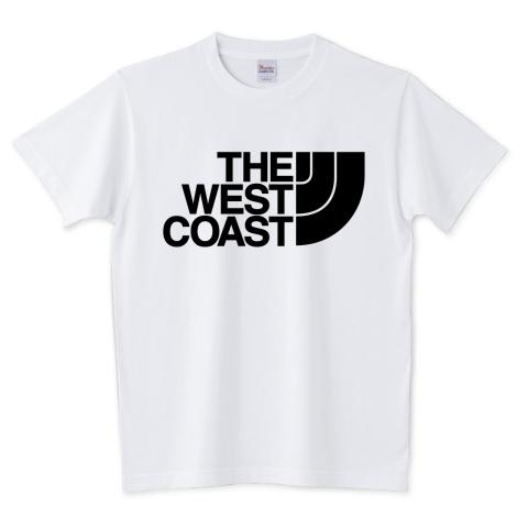 ザ ウェスト コースト THE WEST COAST 5.6オンスTシャツ (Printstar)