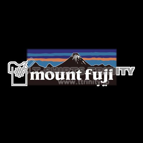 パタゴニア? パパゴリラ? 富士山です! 中くらいロゴ
