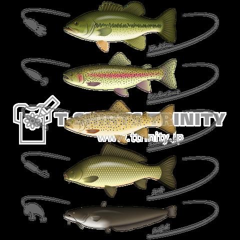 Freshwater fish_2(濃色ボディ)