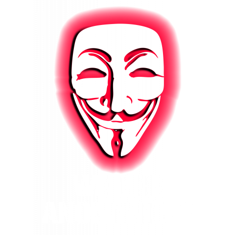 WE ARE ANONYMOUS. (RED)