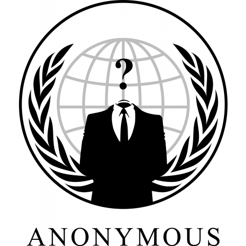 ANONYMOUS ? logo (white・淡色)