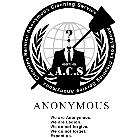 Anonymous Cleaning Service @op.A.C.S - アノニマス クリーニング サービス #opACS 淡色#2