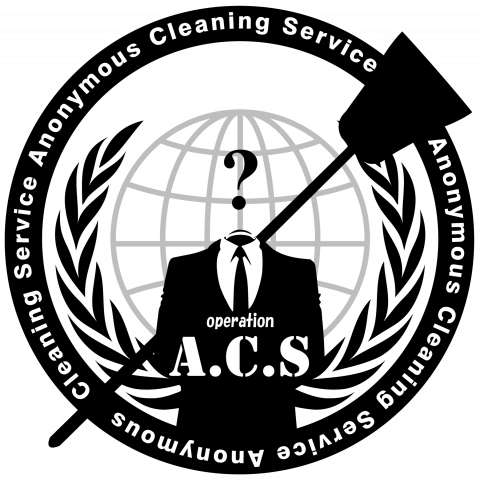 ANONYMOUS #opACS ロゴ 淡色