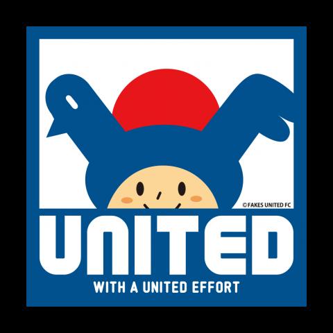 「UNITED」 チャリティーTシャツ