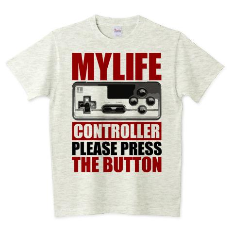 ゲームコントローラー 5.6オンスTシャツ (Printstar)