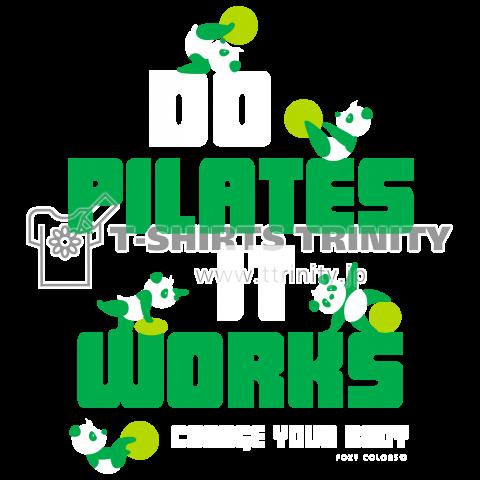 ピラティス PILATES ウェア パンダ Tシャツ green