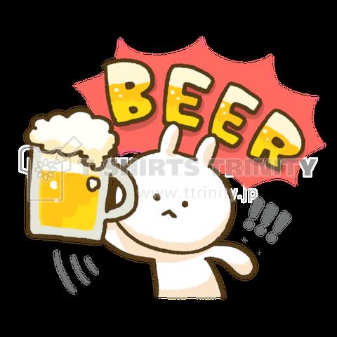 ビールうさぎ 2