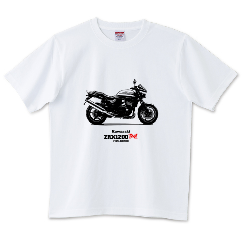 Kawasaki ZRX1200DAEG Final Edition 6.2オンスTシャツ(United Athle)
