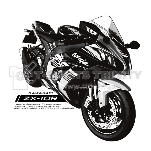 ZX-10R イラストT