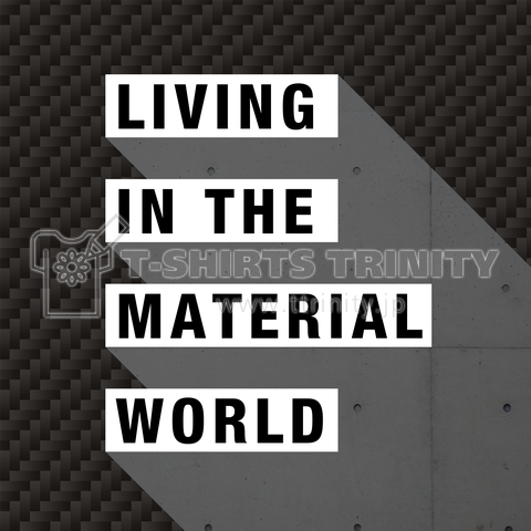 LIVING IN THE MATERIAL WORLD