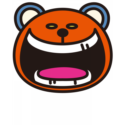 laugh bear