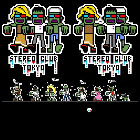 迫る3Dゾンビーズ+3Dゾンビ・オールスターズ(白)