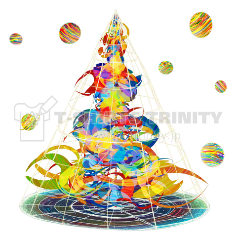 In Harmony With Planets/バックプリント