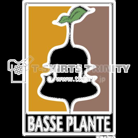 BASSE PLANTE ロゴTシャツ1