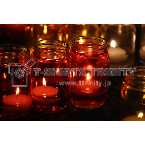 Candle art(red)