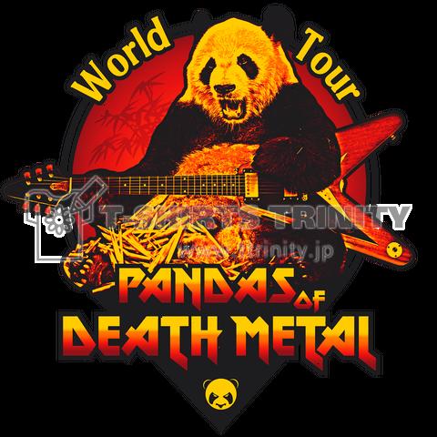 Pandas of Death Metal - World Tour