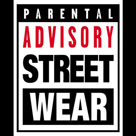 parental advisory street wear boxロゴt 音楽 ロック rock ダンス