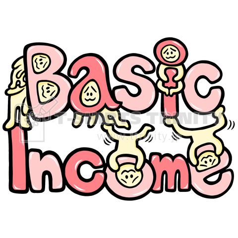 Basic Income(桃)