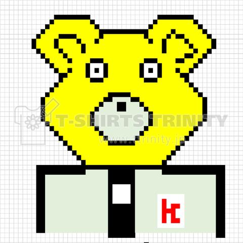 Excelで描いたクマ