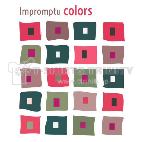 Impromptu colors - squares and rectangles 2