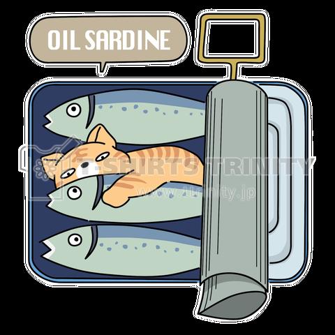 缶詰に潜むネコ