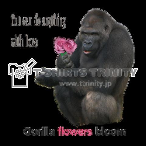gorilla flowers bloom