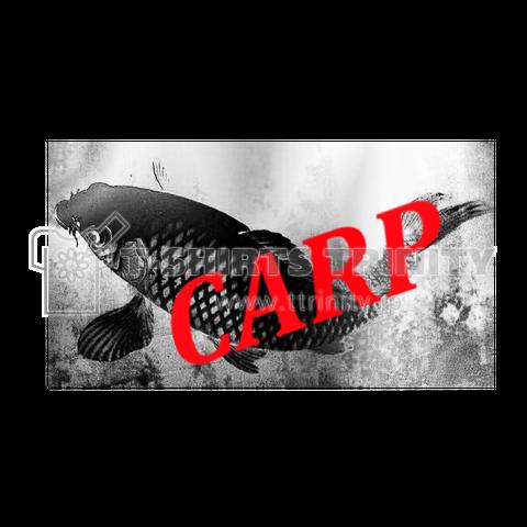 鯉(カープ)モノクロ