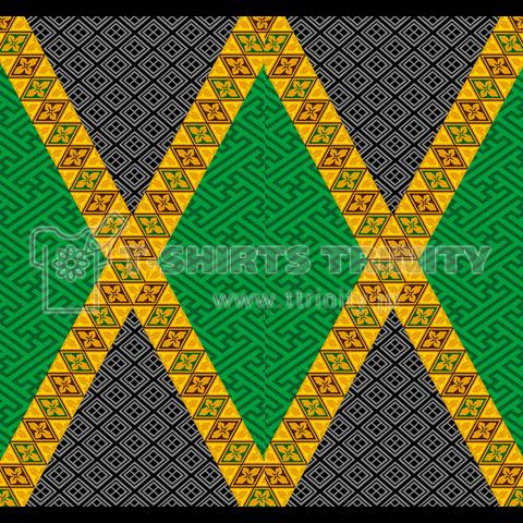 和柄ジャマイカ国旗