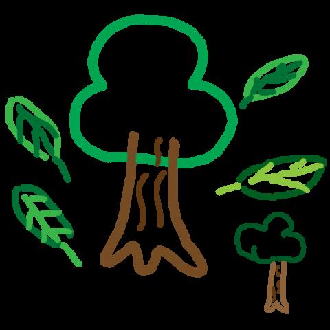 自然の象徴「ウッドくん」
