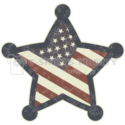 American Sheriff/Vintage style