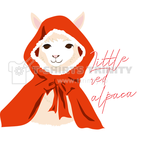 little red alpaca