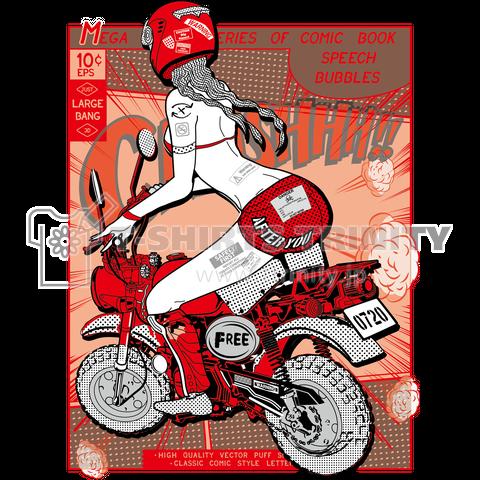MOTO GIRL(MONKEY 50)_A
