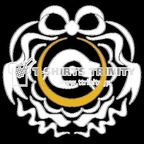 赤ちゃんペンギン(エンペラーペンギン) エンブレム(白)