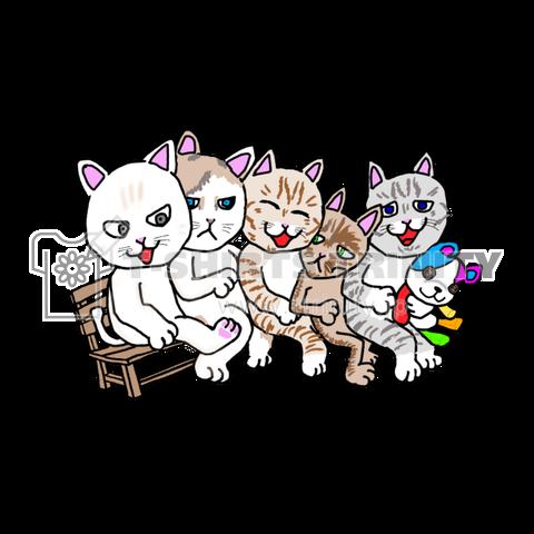 猫ちゃんファミリー