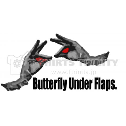 Butterfly Under Flaps.(classic)