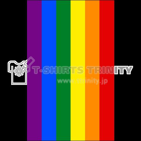 RAINBOW FLAG -レインボーフラッグ- 縦ロゴ