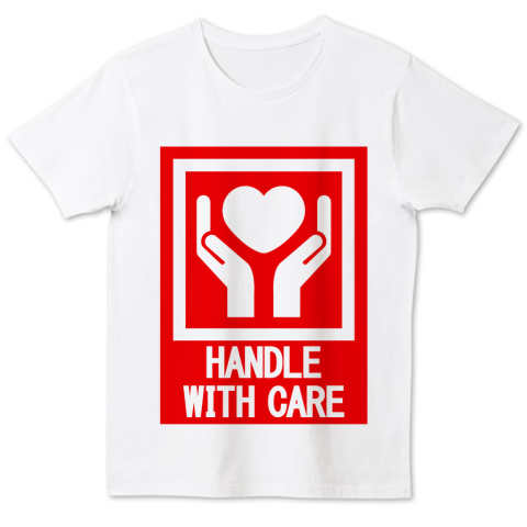 HANDLE_WITH_CARE 4.6oz Fine Fit Tshirts (DALUC)
