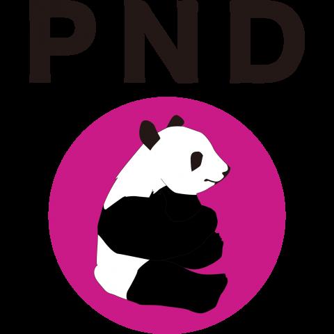 pndシンプルパンダTシャツ
